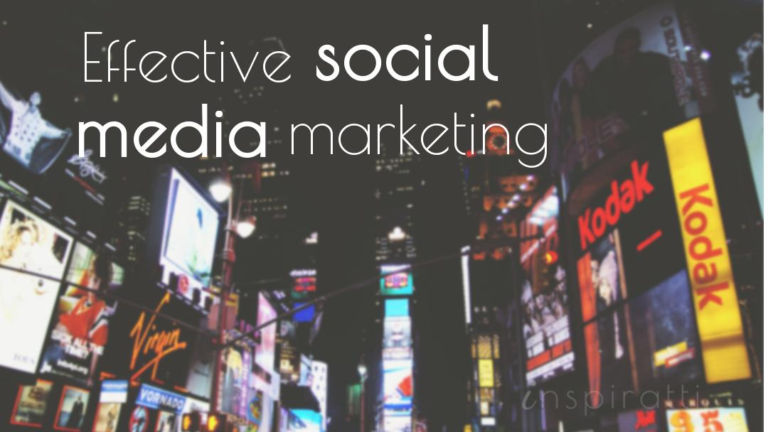 Effective Social Media Marketing: Lessons From Top Brands