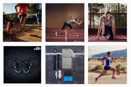Nikerunning Instagram feed