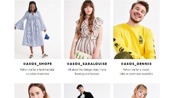 ASOS Insiders webpage