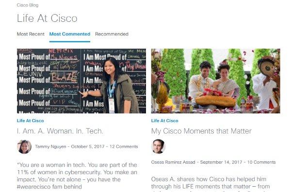 Cisco Life At Cisco Blog