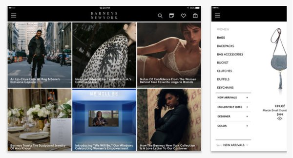 Barneys New York for iPad on the App Store